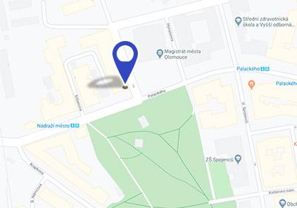 mapa k Wolkerově ulici - klikni pro odkaz na mapu